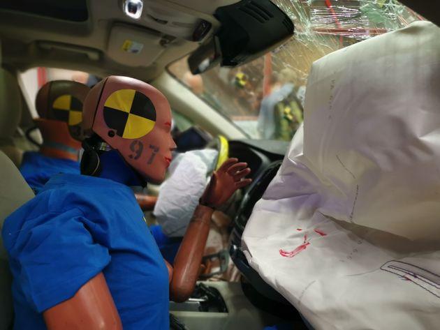 Official Volvo Carcrash test