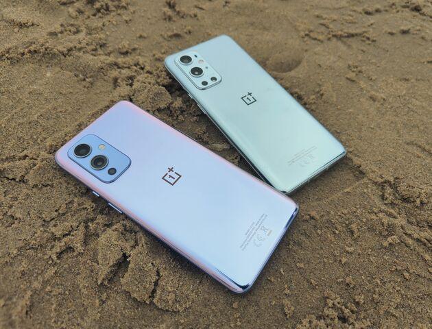 OnePlus9en9apparaten