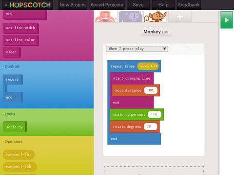 Ook meisjes programmeren met Hopscotch voor iPad