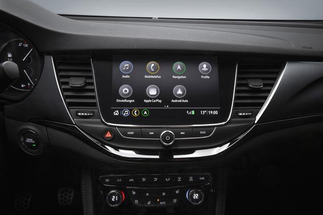Opel 8 inch display