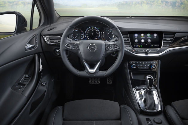 Opel interieur