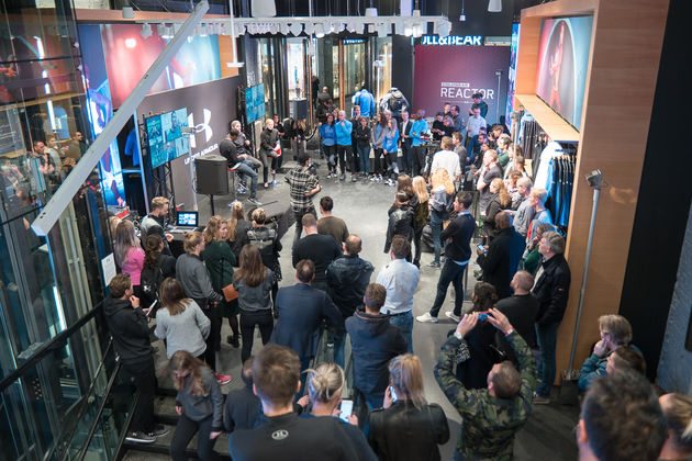 Opening Under Armour Brand House Amsterdam-8
