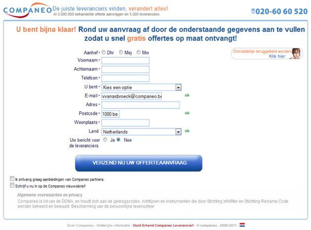 OPTA deelt boete uit van €100.000 voor het versturen van spam aan ondernemers