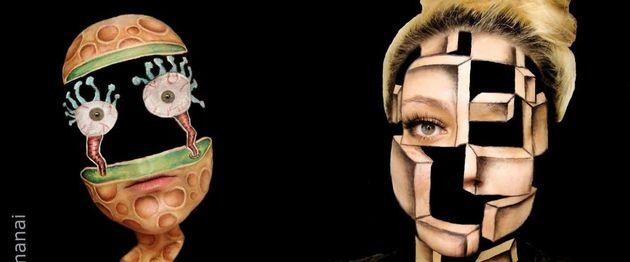 optische-illusie-make-up-artiest