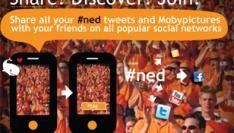 Oranjegekte fans, spelers en pers live te volgen via Mobypicture Mashup