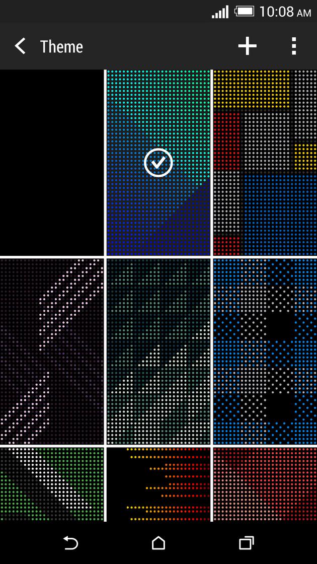 HTC Dot View Wallpaper