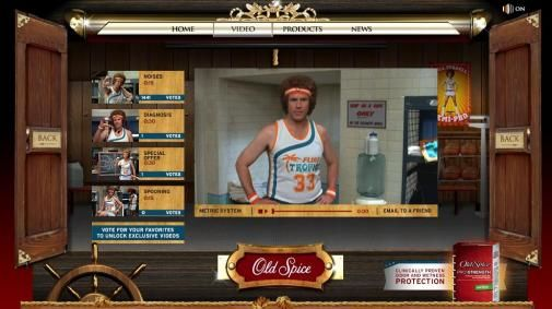 Outtakes filmhit Semi-pro vormen viral Old Spice