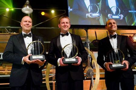 Ouwinga (UNIT4), Roelofsen (Rotra) en Van der Does (Adyen) zijn Entrepreneur Of The Year 2013 #EOYNL