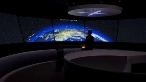 Overzicht van vluchtverkeer in real-time
