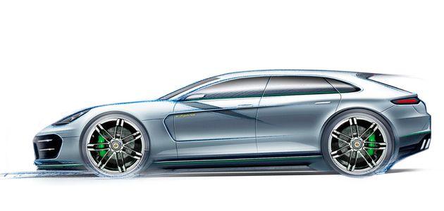 Panamera Sport Turismo: een kijkje in de toekomst van Porsche