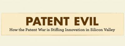 Patent strijd verstikkend voor innovatie in de Valley [Infographic]