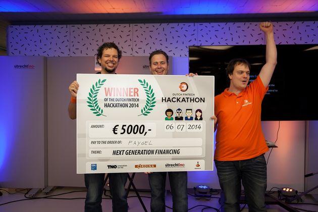 Paygel winnaar van 1e Dutch FinTech Hackathon