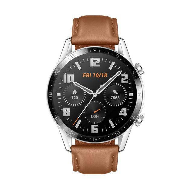pebble brown huawei watch gt 2