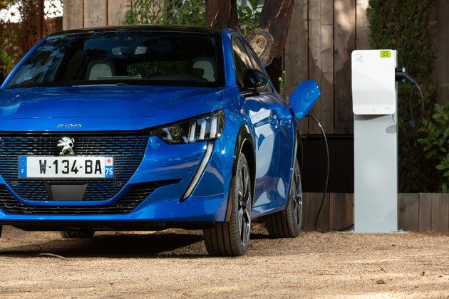 Peugeot elektrificatie wagenpark
