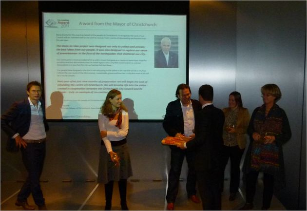 Philips, Heineken, NikeiD en Christchurch winnaars Co-Creation Awards 2011