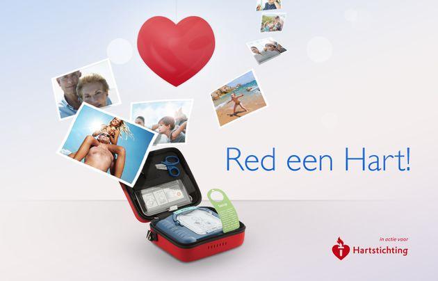 Philips lanceert interactieve Facebook-campagne: Red een Hart!