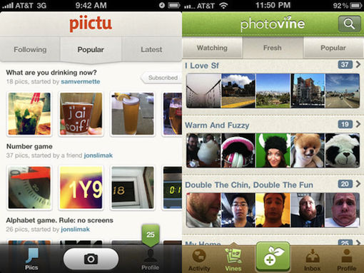 Photovine, Google's iPhone photo app is nu beschikbaar