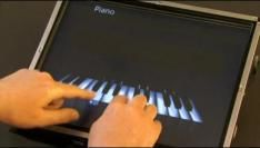 Piano spelen met Multi-touch in Windows 7