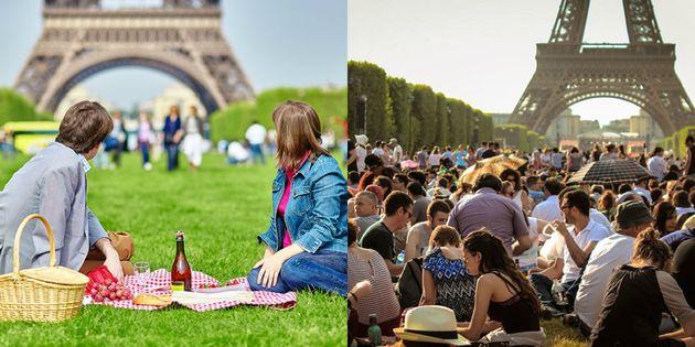 picknick-eiffeltoren