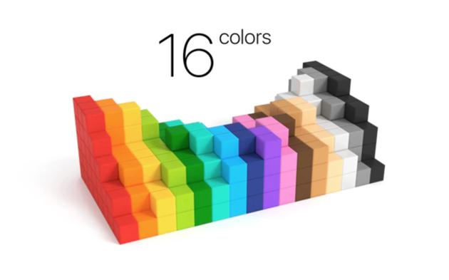 pixio-kleuren