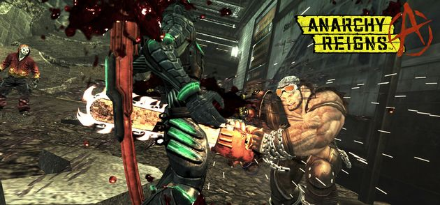 Platinum games onthult online beat'em'up Anarchy Reigns