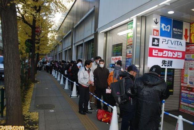 Playstation Vita heeft goede start in Japan maar verkoopt niet uit