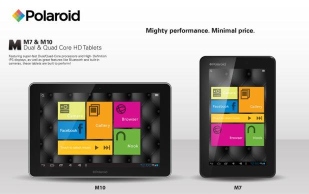 Polaroid komt met goedkope en krachtige tablets