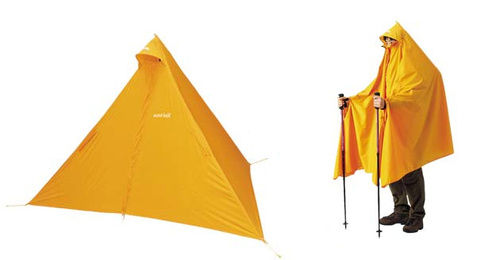 poncho-tent