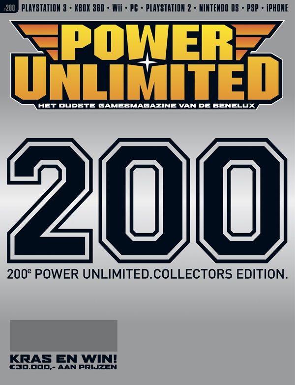 Power Unlimited nr. 200: 17 jaar Nederlandse Gamejournalistiek