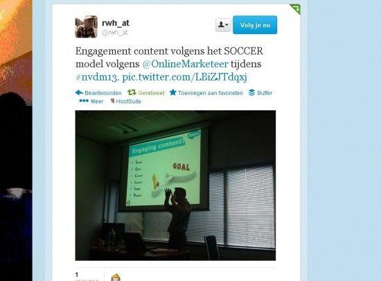 [Presentatie] Het SOCCER-model van contentengagement