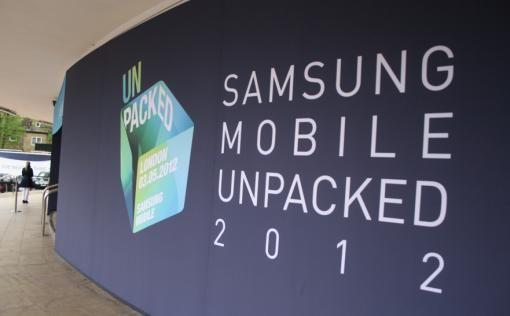 Presentatie Samsung Galaxy S III was media fail