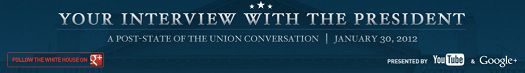 President Obama beantwoordt vragen via Google+ Hangout