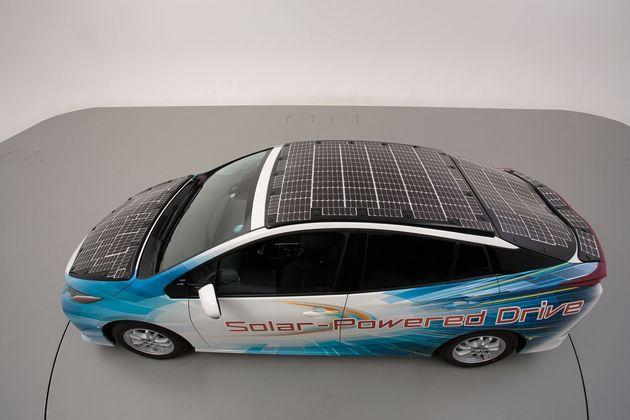 Prius zonne-energie