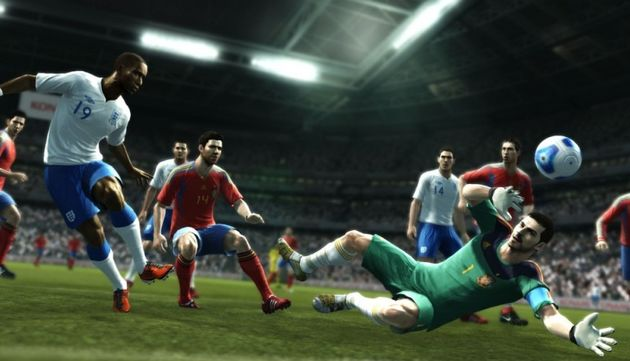 Pro Evolution Soccer 2012 gaat onderuit in de verlenging