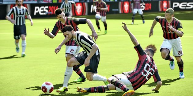 Pro Evolution Soccer 2014 maakt een flinke inhaalslag