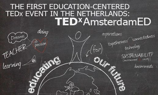 Programma eerste editie TEDxAmsterdamED Connected worlds is bekend