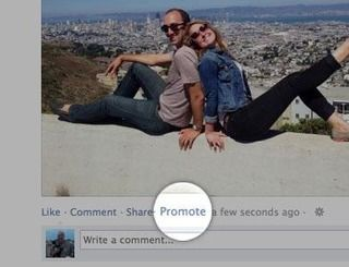 Promoot je eigen berichten en status updates op Facebook