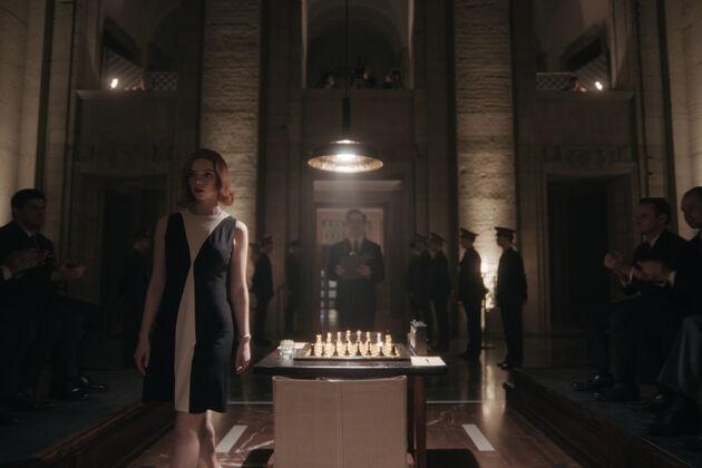 Queen's Gambit schaakspel