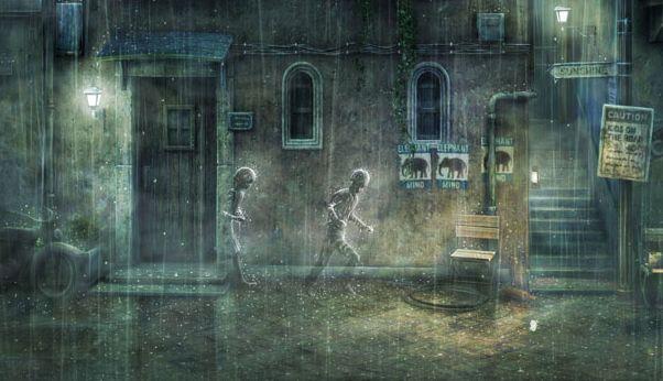 Rain: melancholie ten top op Playstation Network