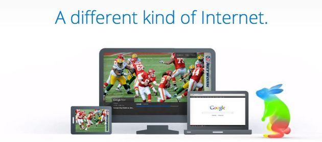 Razendsnel internet met Google Fiber