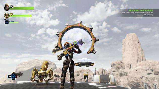 Recore-Seth-gameplay
