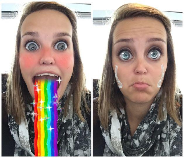regenboog-tranen-snapchat