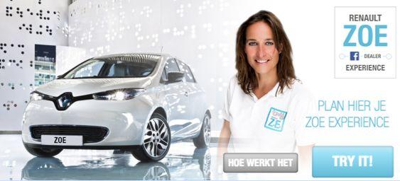 Renault opent eerste dealer op Facebook