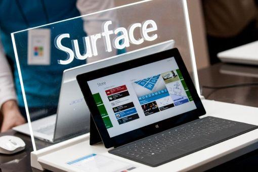 Resultaten Microsoft Surface vallen tegen