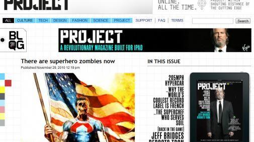Richard Bransons Project: eerste iPad-only tijdschrift van Virgin