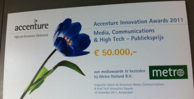 Roamler wint alsnog Accenture publieksprijs (en vraagt jouw hulp)