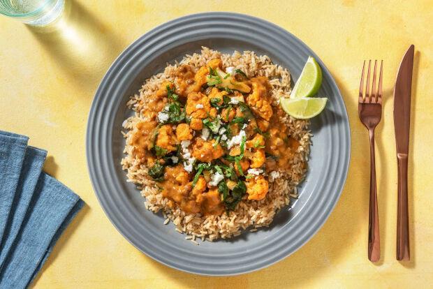 Rode linzen curry