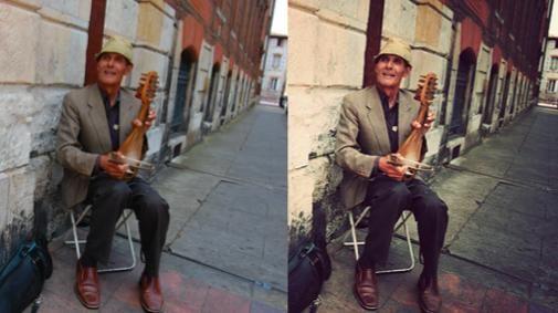 Rollip maakt foto's in Polaroid style