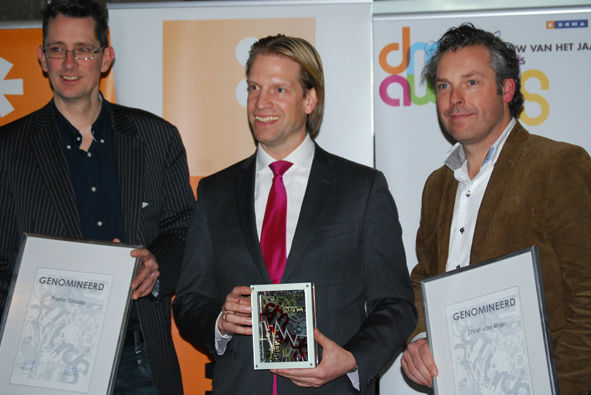 Roy Scheerder (KLM) DM Man van het jaar 2011