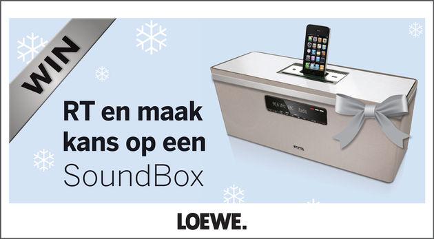 RT-actie op StyleCowboys met Loewe SoundBox